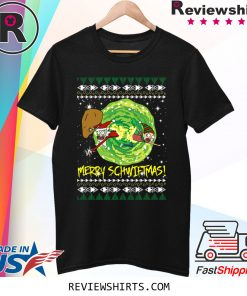 Rick and Morty Santa Claus Ugly Christmas 2020 T-Shirt