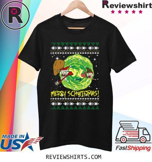 Rick and Morty Santa Claus Ugly Christmas 2020 T-Shirt