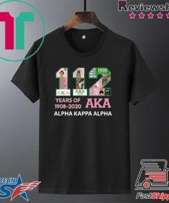 112 Years Of Aka Alpha Kappa Alpha 1908 2020 Gift T-Shirts