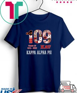 109 Years Of 1911 2020 Kappa Alpha Psi Gift T-Shirts