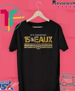 15&Eaux Championship Gift T-Shirts Licensed by LSU
