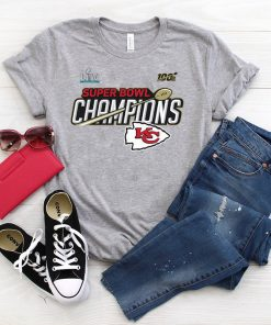 Champions Trophy Kansas City Chiefs Super Bowl LIV Gift T-Shirts