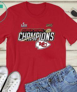 Kansas City Chiefs Champions Official T-Shirts