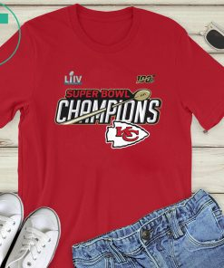 Kansas City Chiefs Super Bowl LIV Gift T-Shirts