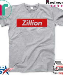 Zillion Beers Box Logo Gift T-Shirts