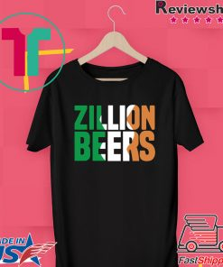 Zillion Beers Ireland Gift T-Shirts