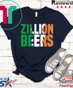 Zillion Beers Ireland Gift T-Shirts