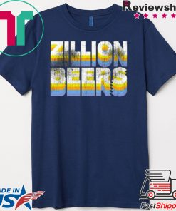 Zillion Beers Retro Pocket Gift T-Shirt