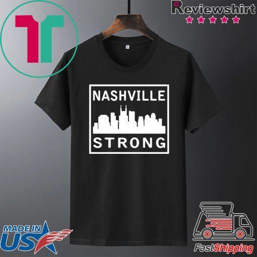 #nashvillestrong Nashville Strong 2020 Gift T-Shirt