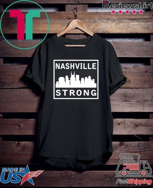 #nashvillestrong Tennessee Strong TShirt