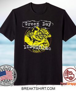 Green Day Insomniac Free Hugs Mens T Shirt Unisex Tee Official Licensed Merch