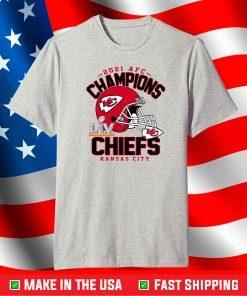 2021 AFC Champions Kansas City Chiefs Shirt, Super Bowl Shirt